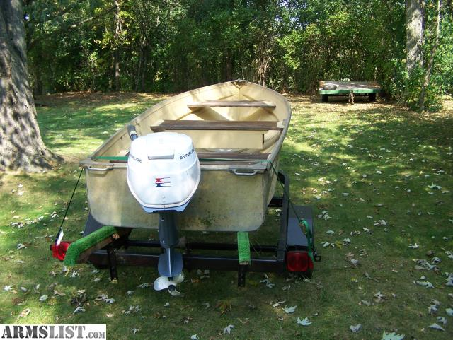 Armslist for sale 12 39 sea king aluminum row boat for Outboard motors for sale in wisconsin