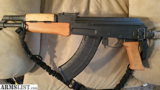 ARMSLIST - For Sale: Century arms milled receiver AK 63 D