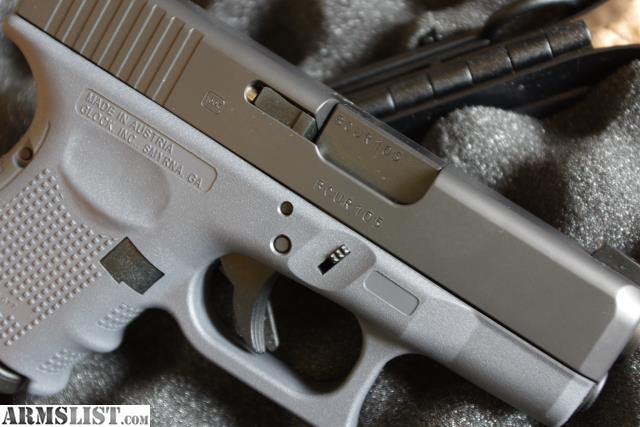 ARMSLIST - For Sale: Glock 26 Gen 4 (Gray Frame) Night Sights and ...