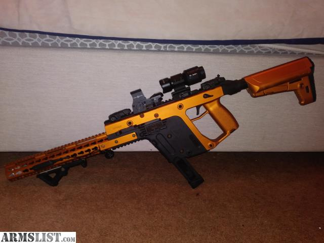 armslist for sale custom kriss vector 45 acp