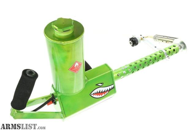 ARMSLIST - For Sale: USED: XM42 Flamethrower - Toxic Green