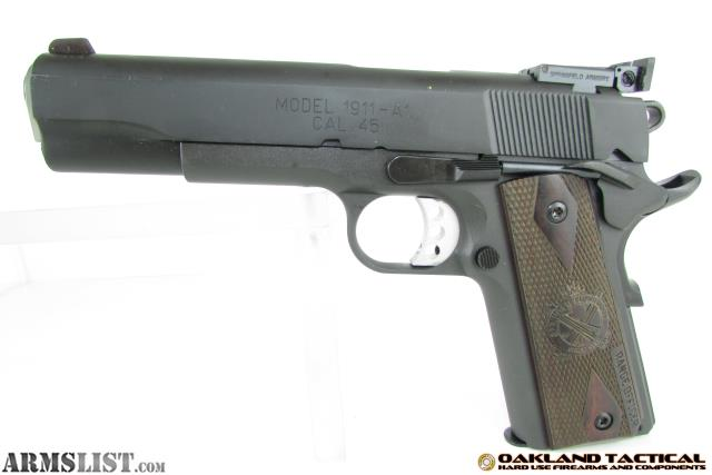 ARMSLIST - For Sale: Springfield Armory 1911 Range Officer 5\