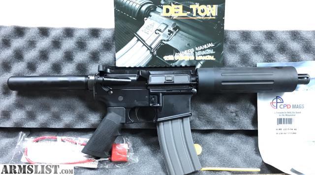 ARMSLIST - For Sale/Trade: New DELTON AR Pistol AR15 Del-Ton