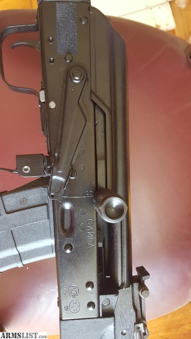 ARMSLIST - For Sale: Saiga AK 47 74 chambered in 5 45 x 39