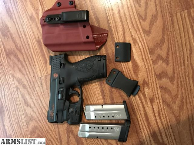 Armslist For Trade M Amp P Shield 9mm Streamlight Tlr 6 Combo