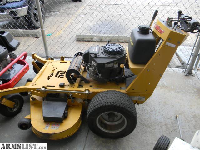 Hustler 640 mower