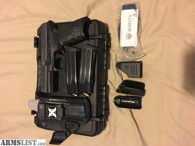 ARMSLIST - For Sale/Trade: Beretta APX Trade for Pistol AR Plus Cash