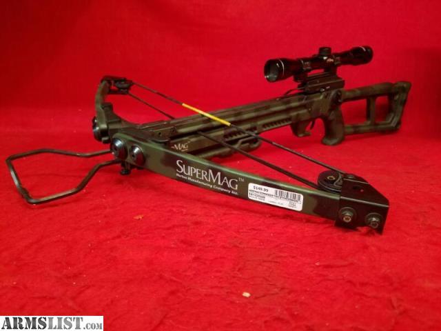 ARMSLIST - For Sale: Horton Supermag 150lb Crossbow - Camo