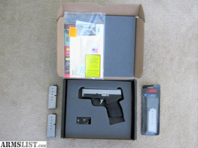 ARMSLIST - For Sale: Kahr CM9 with 3 magazines, box, extras