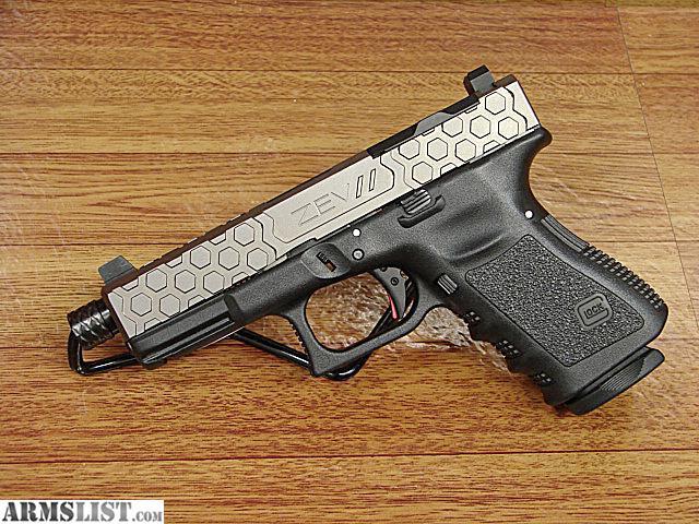 ARMSLIST - For Sale: Glock 19 ZEV Upper Kit w/Hex Slide & Threaded
