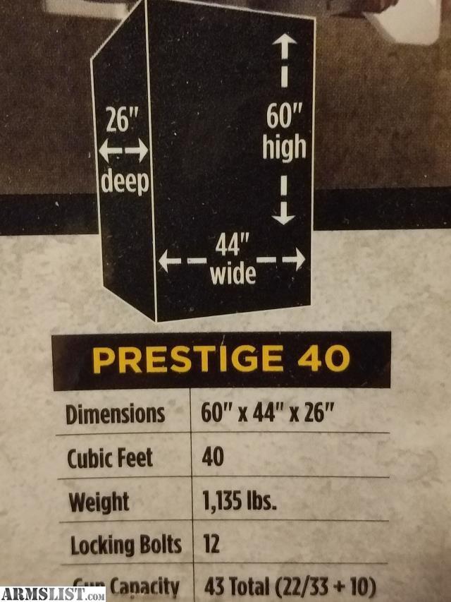 ARMSLIST - For Sale: Browning Prestige gun safe