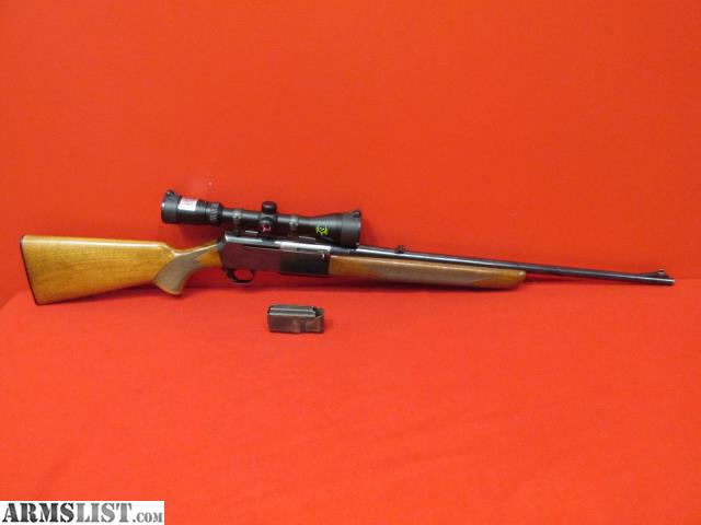 armslist for sale browning bar 30 06spg semi auto rifle w scope