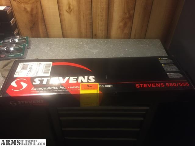 ARMSLIST - For Sale: Stevens model 555 deluxe 20ga