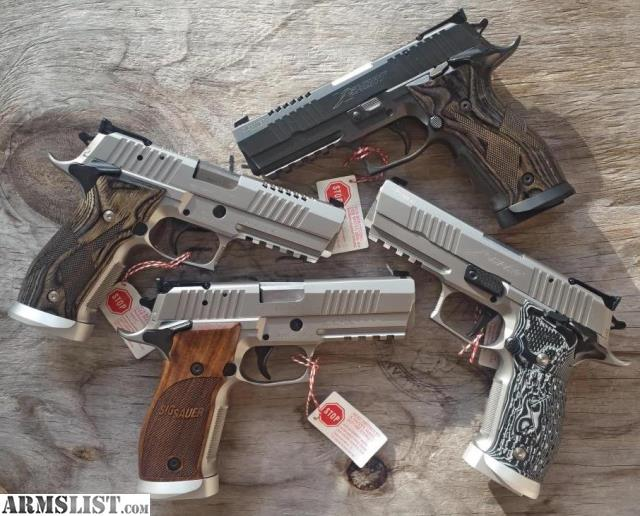 Armslist For Sale Sig Sauer X5 Short Supermatch Super