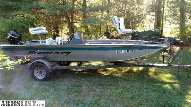 ARMSLIST - For Sale: Spectrum bass boat