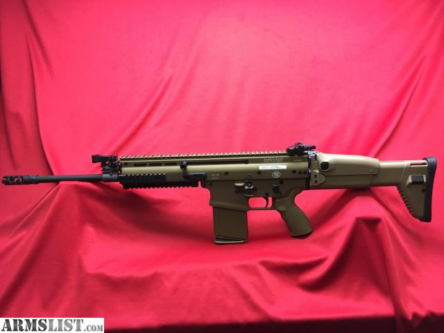 ARMSLIST - For Sale: FNH SCAR 17S in FDE Excellent condition!!!