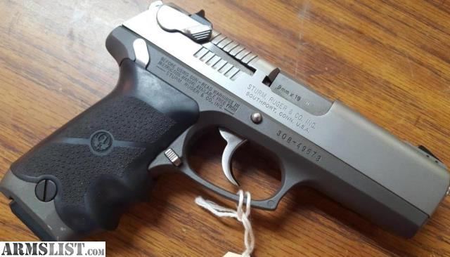 ARMSLIST - For Sale: Ruger P94  9mm Semi-automatic Pistol