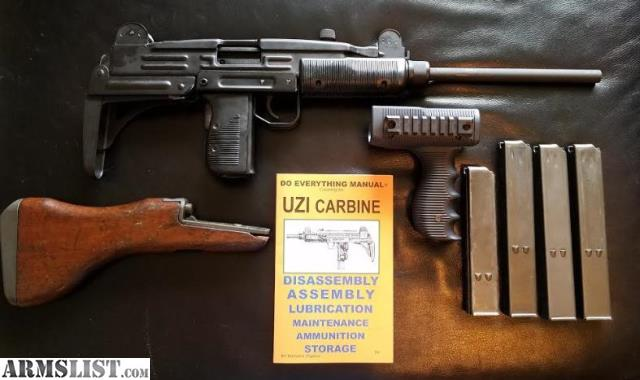 ARMSLIST - For Sale/Trade: *Reduced price* Uzi Package