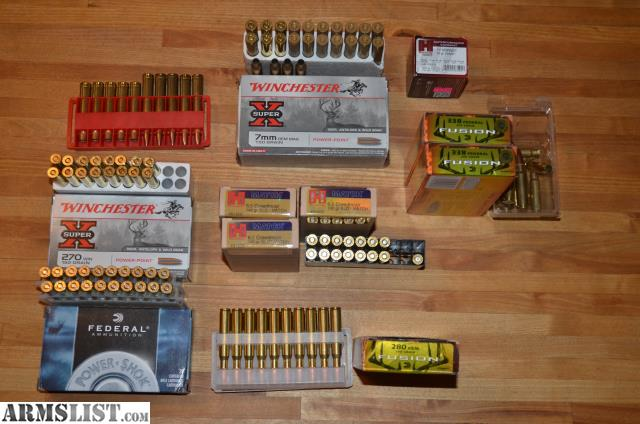 ARMSLIST - For Sale: Ammo - Several - 47.7KB