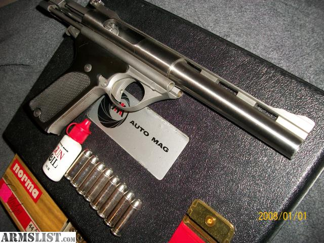 armslist for sale ultra rare first generation 44 auto mag. Black Bedroom Furniture Sets. Home Design Ideas