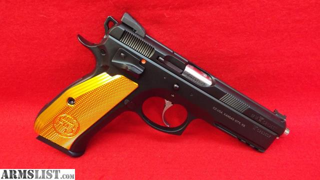 ARMSLIST - For Sale: #6508 CZ SP01 SHADOW Orange 9mm 10rd 01168