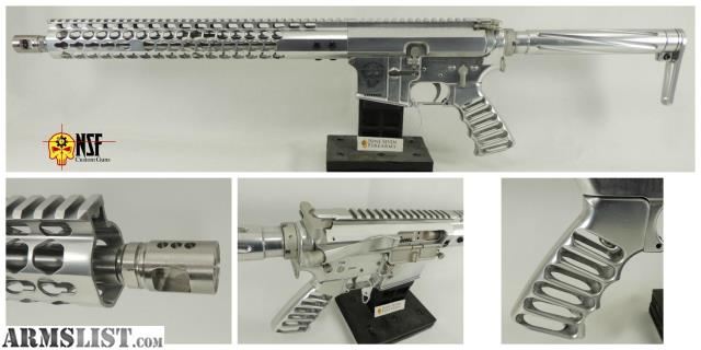 ARMSLIST - For Sale: NSF Custom Guns SS-15 Polished Aluminum AR-15