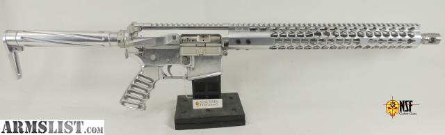 ARMSLIST - For Sale: NSF Custom Guns SS-15 Polished Aluminum AR-15