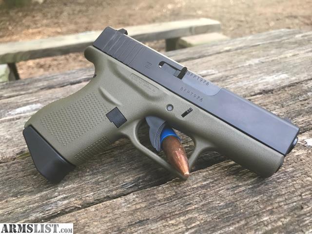 armslist - for sale/trade: glock 43 od green 9mm | trades & layaways |