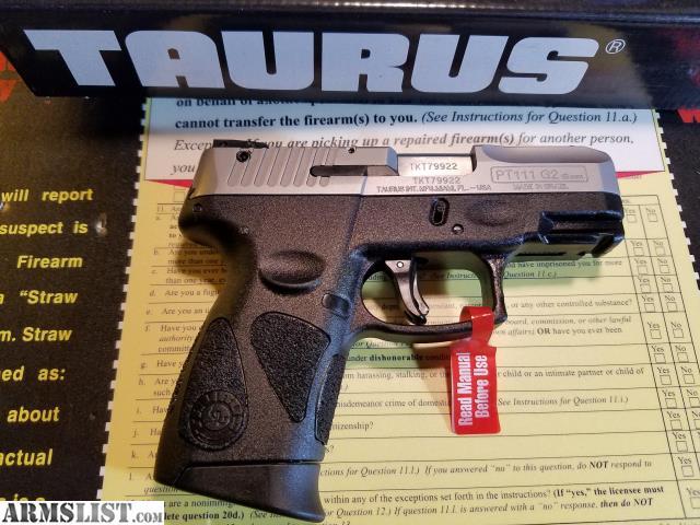 Madison : Taurus pt111 millennium g2 pro 12 round 9mm magazine
