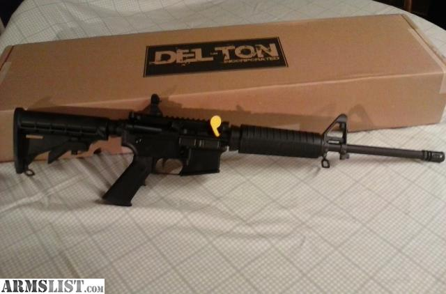 ARMSLIST - For Sale: DEL-TON ECHO RFTMC16-0 AR15