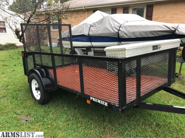 Armslist for sale trade 2010 5x10 utility trailer w 2 for 5x10 wood floor trailer