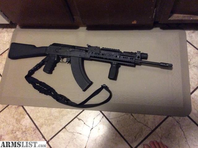 ARMSLIST - For Sale: AK extended rail