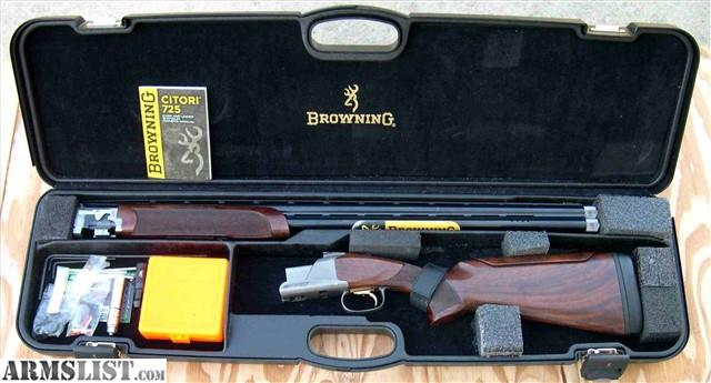 Armslist For Sale Browning Citori 725 Pro Sporting 12ga