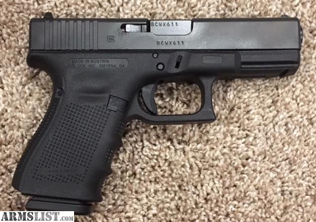 armslist for sale glock 19 gen 4 and holster