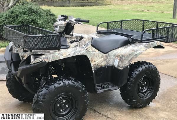 Armslist for sale camo 2015 yamaha grizzly 700 with extras for Yamaha grizzly 700 for sale