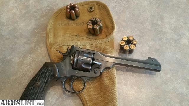 ARMSLIST - For Sale: Webley mk VI combat revolver converted