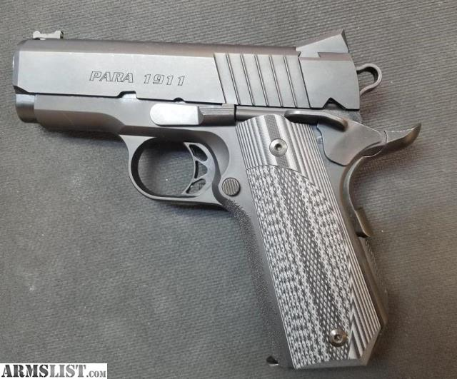 ARMSLIST - For Sale: USED PARA ORDNANCE 1911 EXPERT CARRY 45 ACP PISTOL