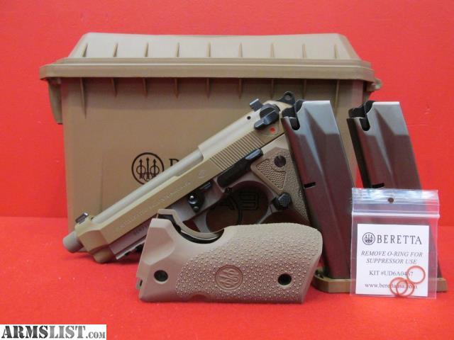 ARMSLIST - For Sale: Beretta M9A3 9mm 5 1