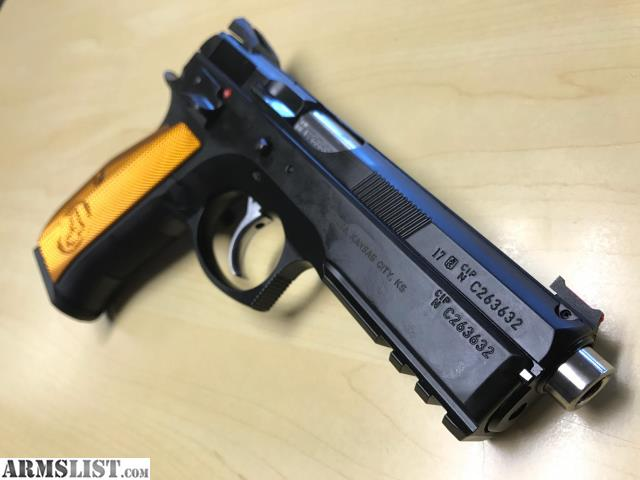 ARMSLIST - For Sale: New CZ 75 SP-01 Shadow Orange 9MM