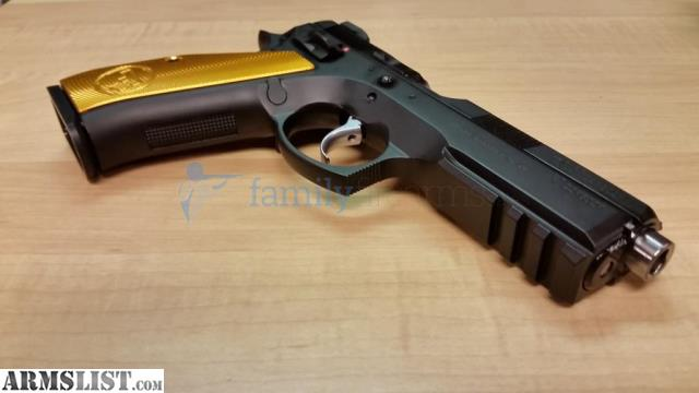 ARMSLIST - For Sale: CZ 75 SP-01 SHADOW ORANGE 10RD EXTENDED BARREL