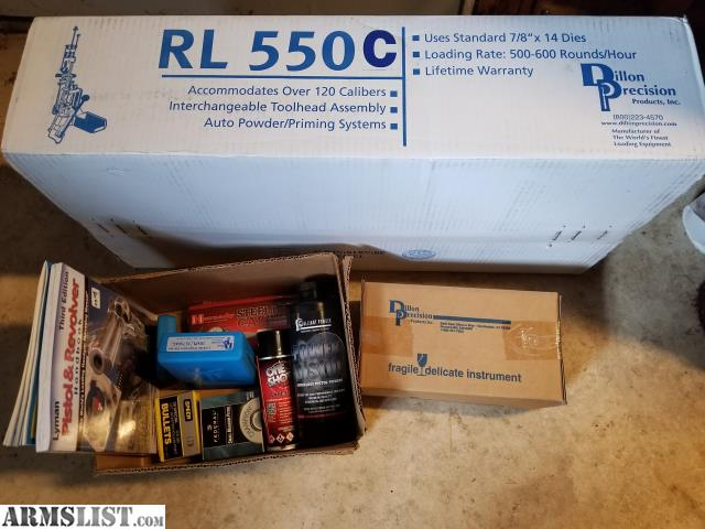 ARMSLIST - For Sale: Dillion Precision RL 550c Progressive