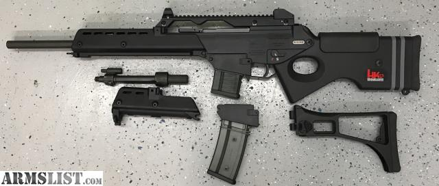 ARMSLIST - For Sale: FS is a HK SL8 with parts for G36 build