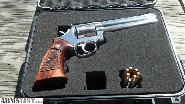 For Sale Beauiful Smith Wesson 686 2 357 Magnum Revolver Made In 1986 Pre Lock Six Inch Barrel Custom Trigger Job This Gun Has An Amazing