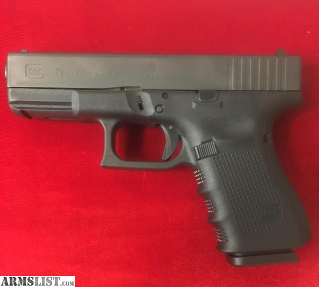 Armslist for sale lnib glock 19 gen 4 w 3 mags inv g for Golden nugget pawn jewelry holiday fl