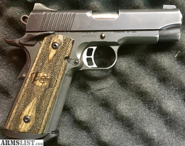 ARMSLIST - For Sale: Kimber Tactical Pro II 1911, 45 ACP
