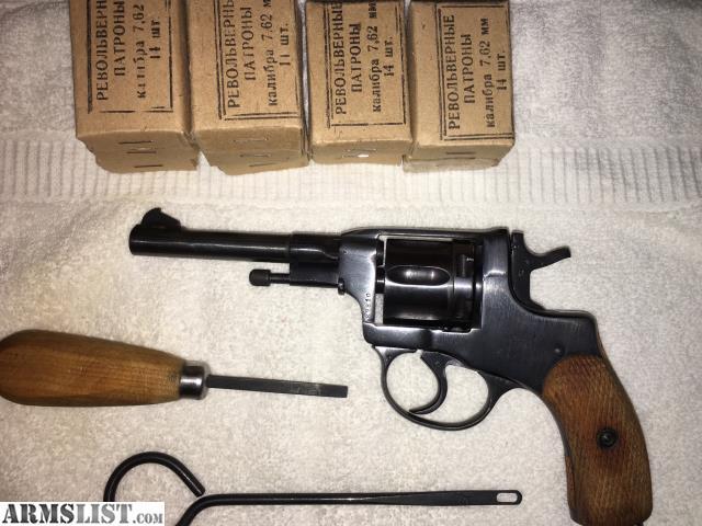 ARMSLIST - For Sale: 1895 Nagant Revolver Dated 1915