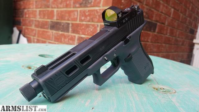 Armslist For Sale Trade Glock 17 Gen 4 Grey Frame Battleworn Grey