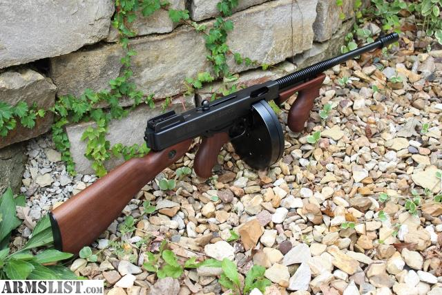 545a8559b1940 Up for sale or trade is my Auto Ordnance M1927A1 Thompson