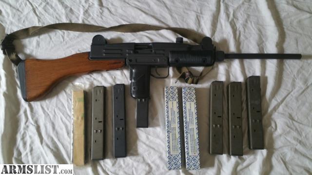 ARMSLIST - For Sale: Centurion UC-9 (UZI carbine 9mm) by CAI