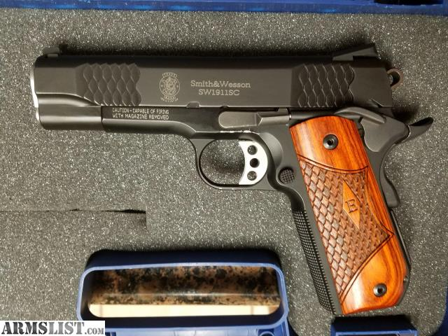 armslist for sale used smith wesson 1911sc e series rh armslist com Smith and Wesson 1911 45 Smith and Wesson 1911 45